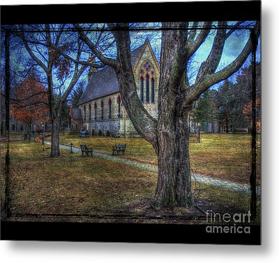 Chapel Metal Print by Jim Wright