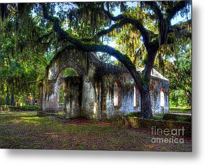 Chapel Of Ease Metal Print by Mel Steinhauer