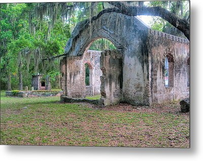 Chapel Of Ease With Tomb Metal Print