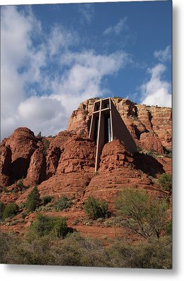 Metal Print featuring the photograph Chapel Of The Holy Cross by Harold Rau
