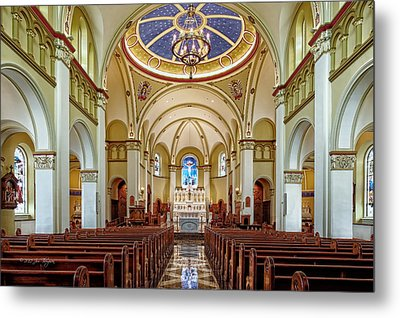 Metal Print featuring the photograph Chapel Of The Immaculate Conception by Jim Thompson