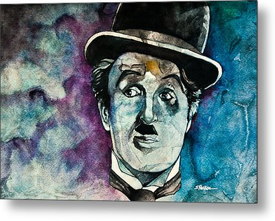 Chaplin Metal Print