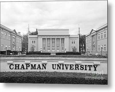 Chapman University Memorial Hall Metal Print by University Icons