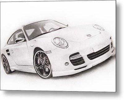 Char-car Metal Print by Atinderpal Singh