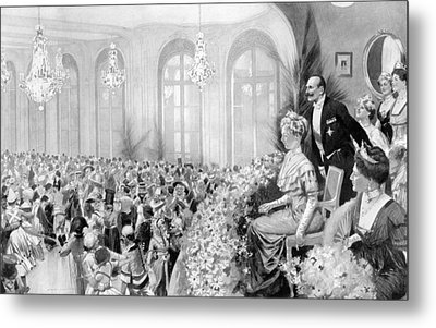 Charity Ball, 1911 Metal Print by Granger