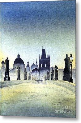 Charles Bridge Metal Print by Bill Holkham