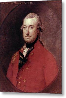 Charles Cornwallis (1738-1805) Metal Print