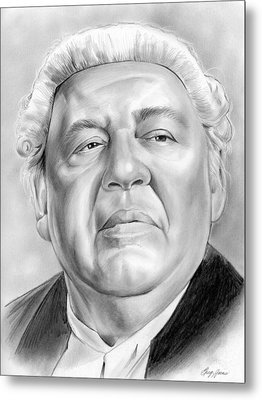 Charles Laughton Metal Print