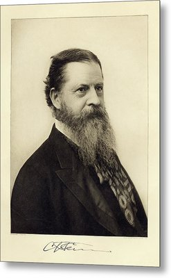 Charles Sanders Peirce Metal Print by Miriam And Ira D. Wallach Division Of Art, Prints And Photographs/new York Public Library