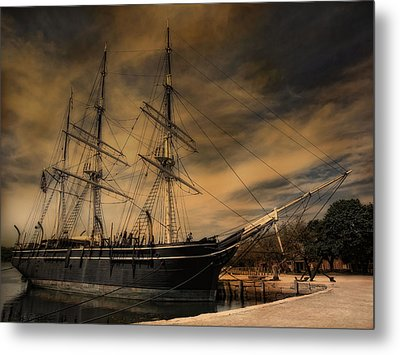 Charles W. Morgan Metal Print by Robin-Lee Vieira