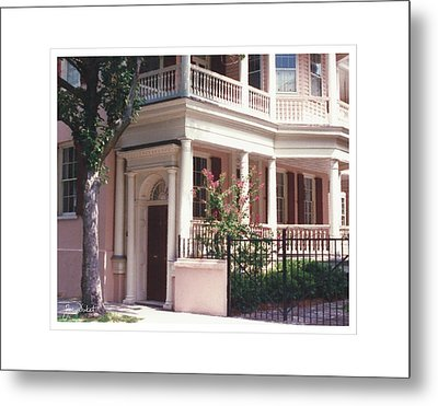 Charleston Architecture 4 Metal Print