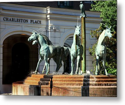 Charleston Place Metal Print
