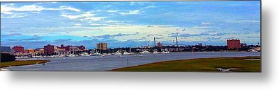 Metal Print featuring the photograph Charleston Sc City View by Joetta Beauford