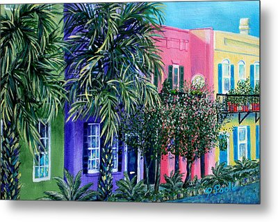 Charleston's Own Rainbow Metal Print