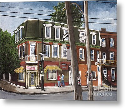 Charlevoix And Mullins Pointe St. Charles Metal Print by Reb Frost