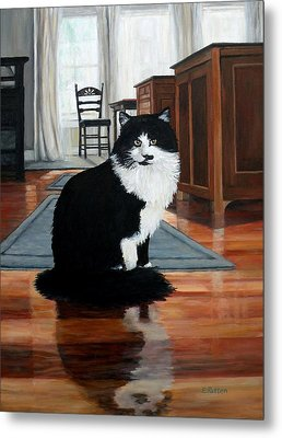 Charlie Metal Print by Eileen Patten Oliver