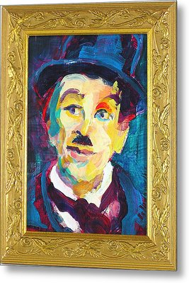 Charlie Metal Print by Les Leffingwell