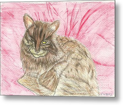 Charlie Metal Print by Tracey Williams