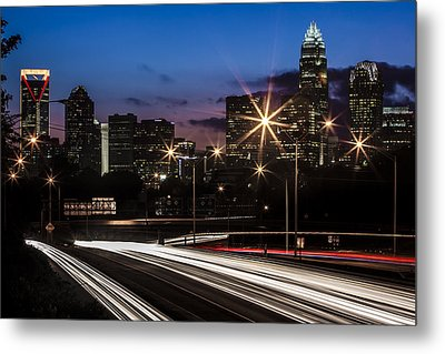 Charlotte Flow Metal Print by Chris Austin