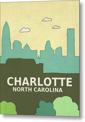 Charlotte Metal Print by Lisa Barbero