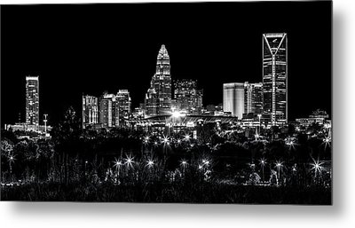 Charlotte Night Metal Print