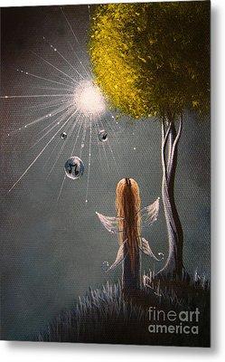 Little Fairy Art By Shawna Erback Metal Print by Shawna Erback