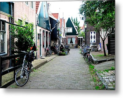 Metal Print featuring the photograph Charming Dutch Village by Joe  Ng
