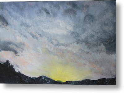 Chase Away The Dark Metal Print by Jane Autry