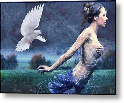 Chased By Purity Metal Print