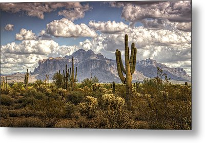 Chasing Clouds Two  Metal Print