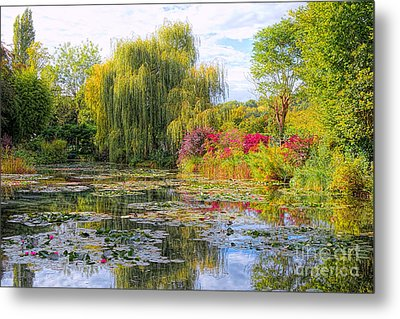 Chasing Monet Metal Print