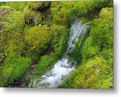 Metal Print featuring the photograph Chasing Waterfalls by Marilyn Wilson
