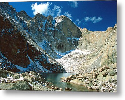 Chasm Lake Metal Print