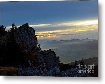 Metal Print featuring the photograph Chasseral Overlook by Charles Lupica