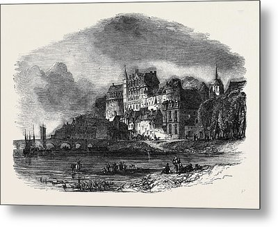 Chateau Damboise, On The Loire Metal Print by English School