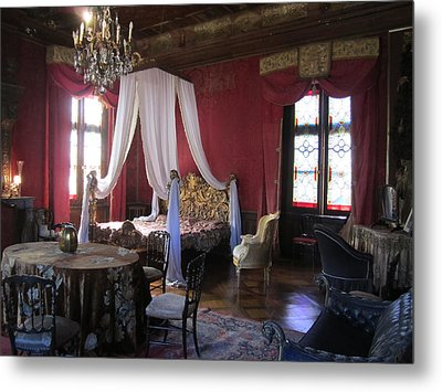 Metal Print featuring the photograph Chateau De Cormatin by Travel Pics