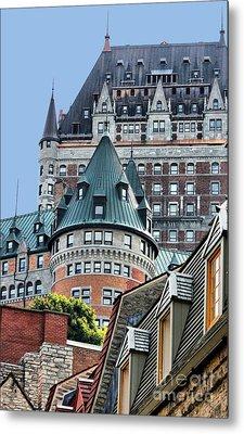 Chateau Frontenac Quebec Canada Metal Print