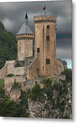 Chateau Tower Colour Metal Print