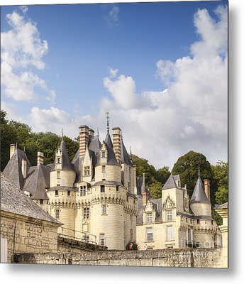 Chateau Usse Loire Valley France Metal Print by Colin and Linda McKie