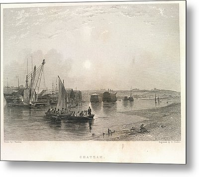 Chatham Metal Print by British Library