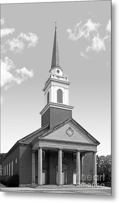 Chatham University Campbell Memorial Chapel Metal Print by University Icons