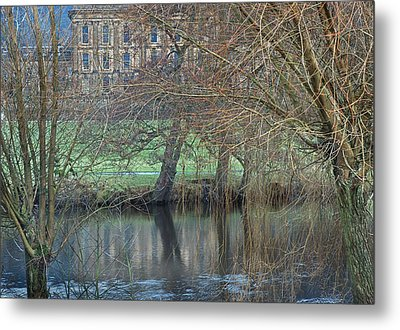 Chatsworth House December Metal Print by Jerry Daniel