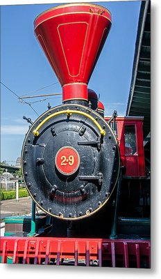 Chattanooga Choo Choo Steam Engine Metal Print