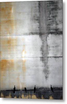 Chatter Of One  Metal Print by Jerry Cordeiro