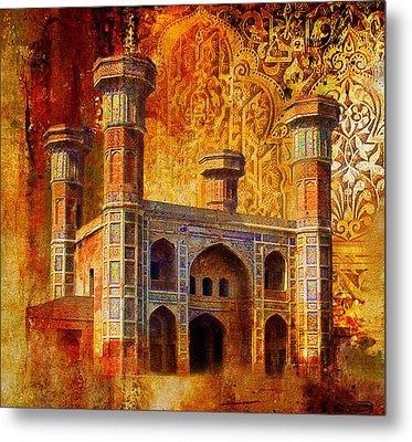 Chauburji Gate Metal Print