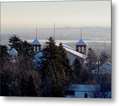 Chautauqua Auditorium At Sunrise Metal Print