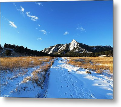 Chautauqua Powder-draped Metal Print
