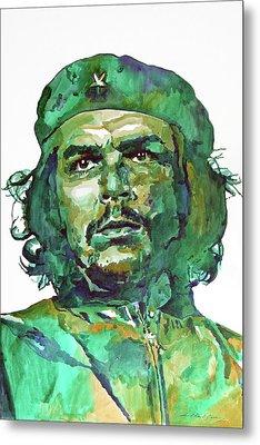 Che Guevara Metal Print by David Lloyd Glover