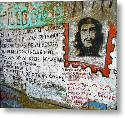Metal Print featuring the photograph Che Guevara by Ramona Johnston