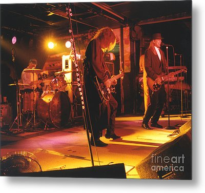 Cheap Trick-93-stage Metal Print by Gary Gingrich Galleries